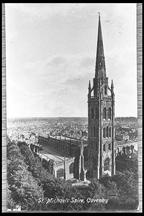 St Michaels Spire, Coventry.