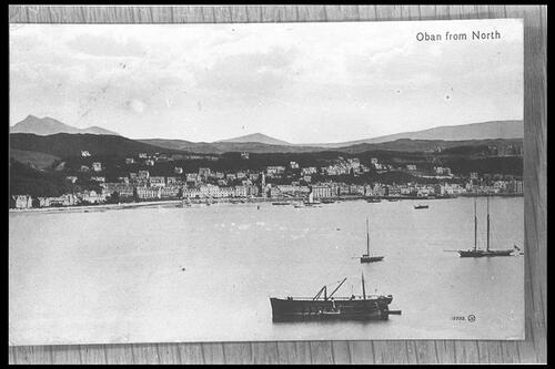 Oban from North.