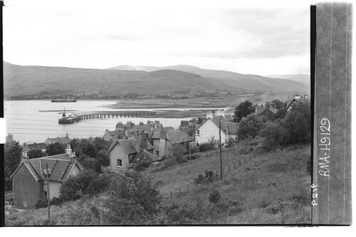 Fort William and Loch Linnhe.