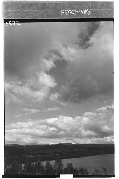 Clouds, north sky, Kincraig.