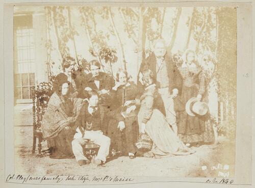 Col. Playfair's family, with Eliza, Mrs P's Maid.