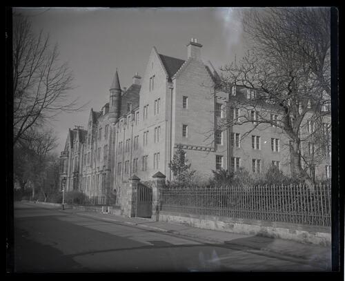 The exterior of St Regulus Hall, Queens Terrace, St Andrews