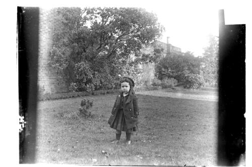 Fred [Miller, in the garden Cleveland Cottage, Isleworth].