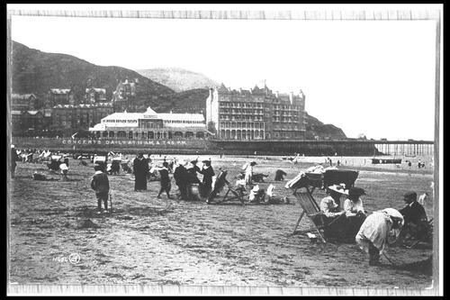 The Sands, Llandudno.
