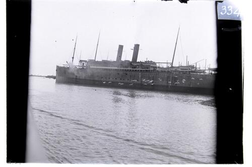 The RMS Celtic at Belfast.
