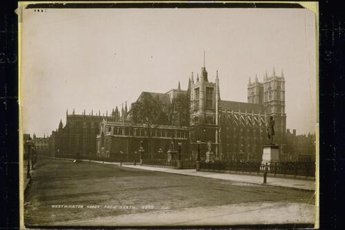 Westminster Abbey from North.