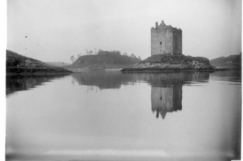 Stalker Castle, Port Appin [from the water].