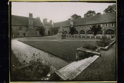 Quadrangle, St Augustine's College, Canterbury.