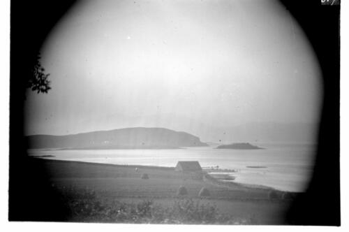 [Lismore] from Ardtur [Port Appin] (through a telescope).