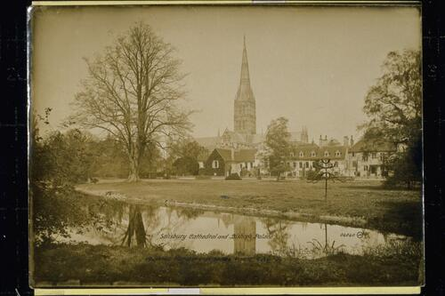 Salisbury Cathedral and Bishop's Palace.