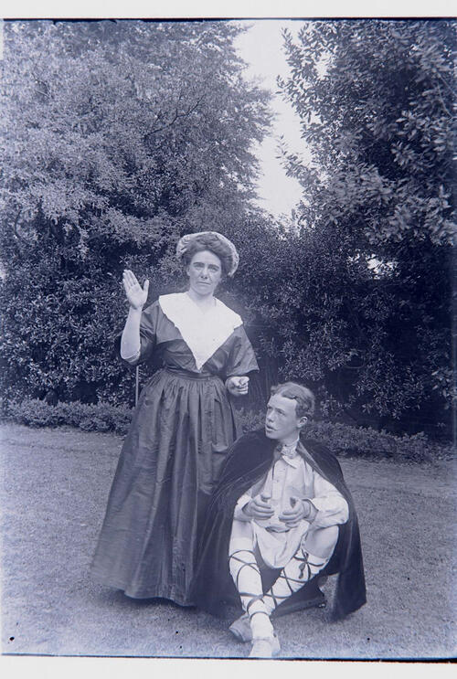 The Goatherd's Wife and King Alfred.