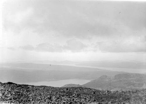 The view from the top of Ben More, Mull - looking West.