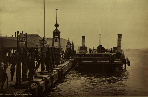 Liverpool. St George's Landing Stage.