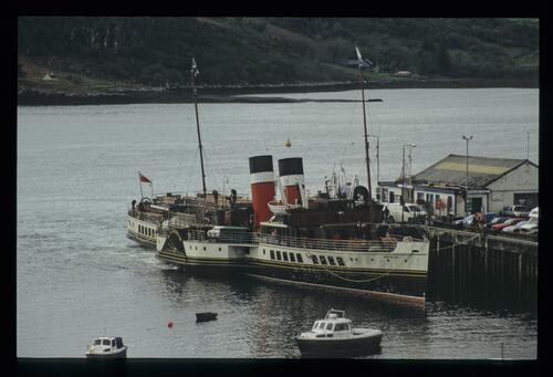 The PS Waverley at Portree.
