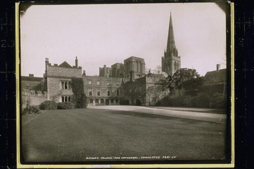 Bishops Palace and Cathedral, Chichester.