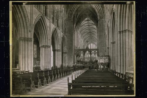Worcester Cathedral, Nave, E.