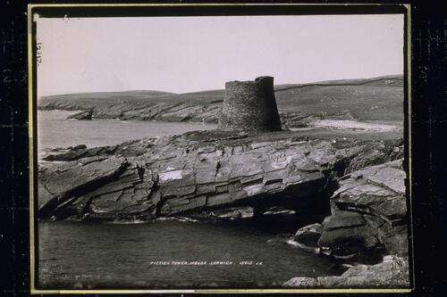Pictish Tower, Mousa, Lerwick.