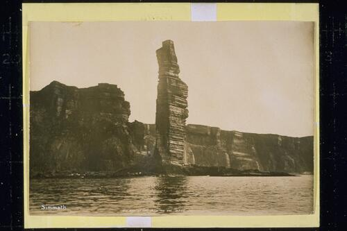 Old Man of Hoy from the sea.
