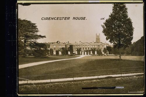 Cirencester House.