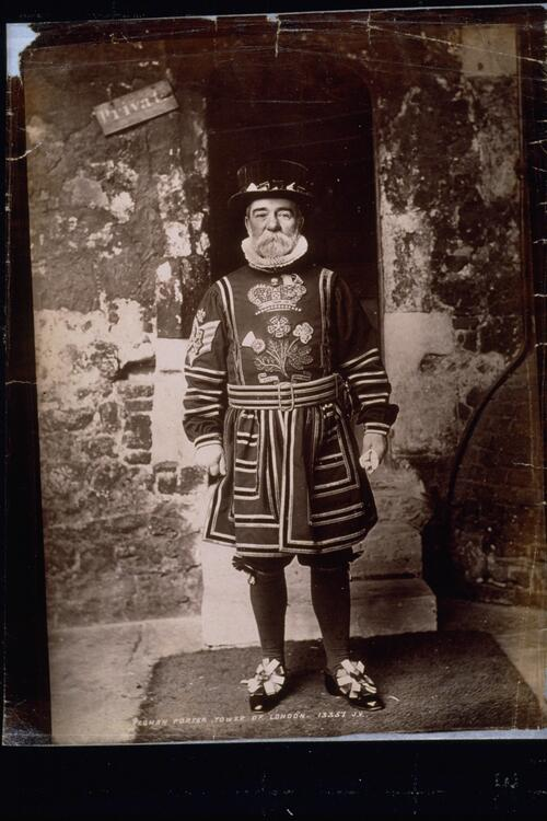 Yeoman Porter, Tower of London.