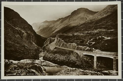 Looking into the Gorge, Glen Coe