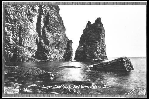 Sugar Loaf Rock, Port Erin.