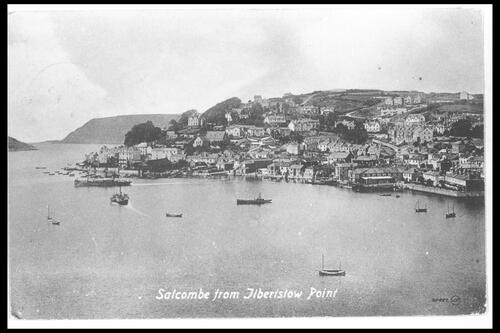 Salcombe from Ilbertstow Point.