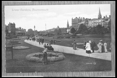 Lower Gardens, Bournemouth.