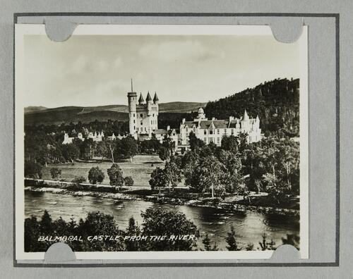 Balmoral Castle from the River