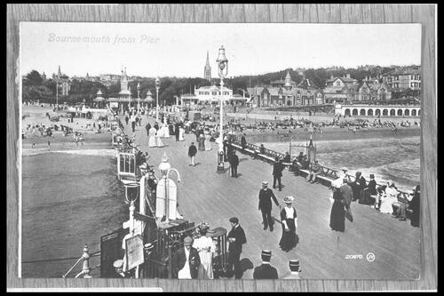 Bournemouth from Pier.
