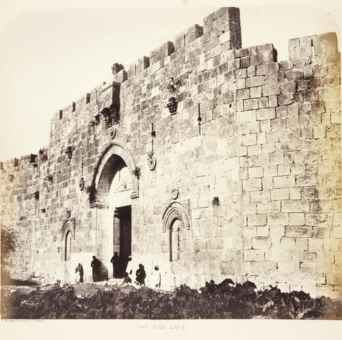 City Walls, Jerusalem.
