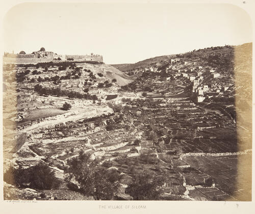 Views of the Environs of the City, Jerusalem.