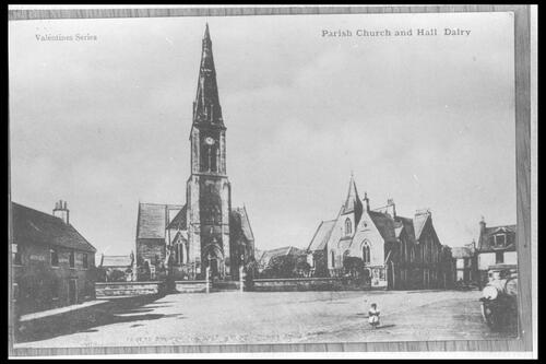 Parish Church and Hall Dalry.