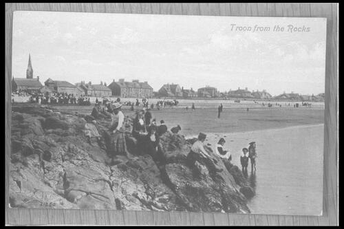 Troon from the Rocks.