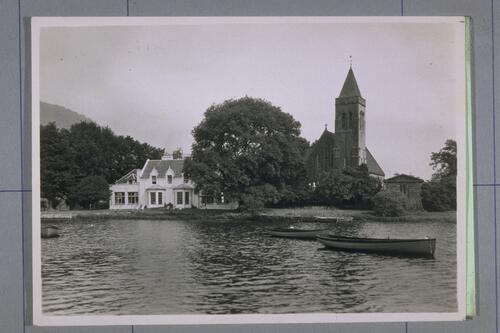 Hotel & Church, Port of Menteith