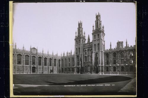 Quadrangle, All Souls College.