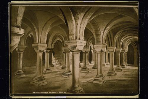 The Crypt, Worcester Cathedral.