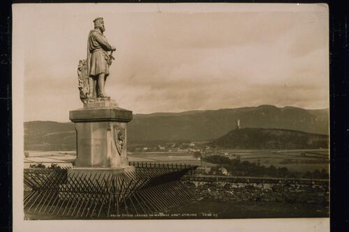 Bruce Statue & Wallace Monument.