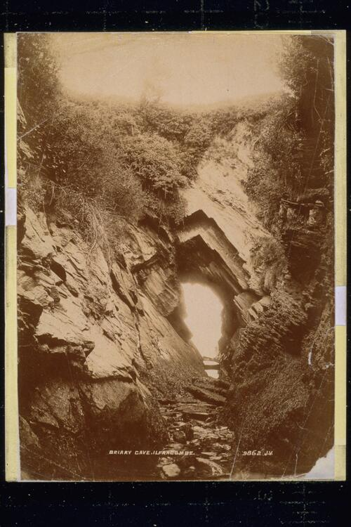 Briary Cave, Ilfracombe.