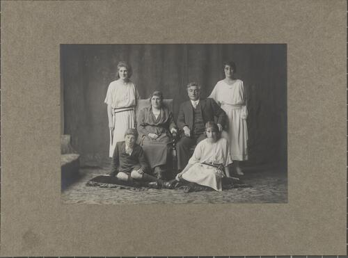 [Group portrait, possibly of a family]
