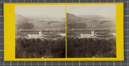 Balmoral Castle from Craig-An-Cowan