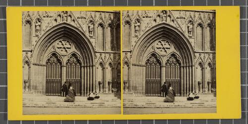 York Minster - The Great West Door