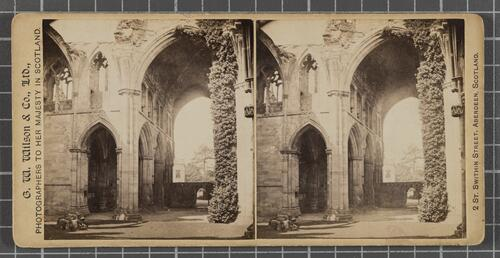 Nave and South Aisle, Melrose Abbey
