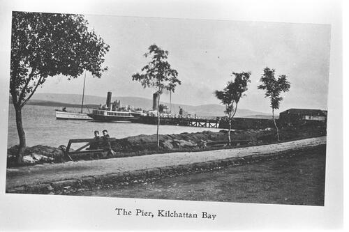 The Pier, Kilchattan Bay.