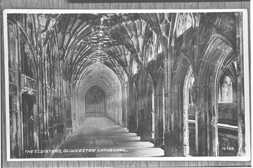 The Cloisters, Gloucester.