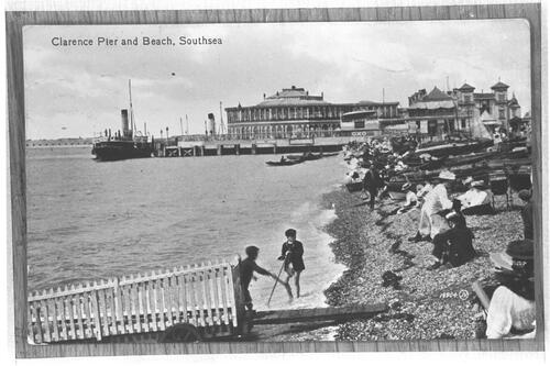 Clarence Pier & Beach, Southsea.