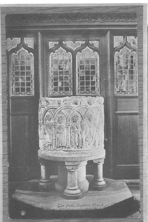 The Font, Ingleton Church.