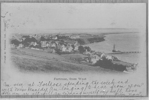 Fortrose, from West.
