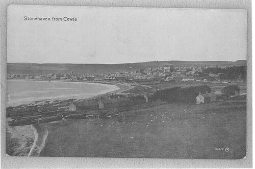 Stonehaven from Cowie.