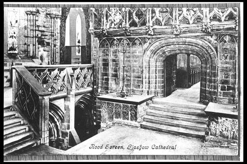 Rood Screen, Glasgow Cathedral.
